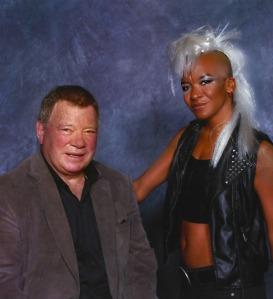 Shatner and Maya